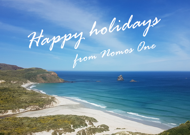 Happy holidays from Nomos One